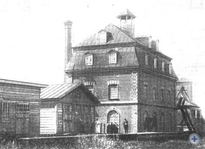 Паровая мельница в Бахмаче. 1910 г.