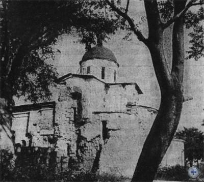 Изображение богини Деметры. Деталь фресковой росписи из т. н. склепа Деметры (I в н. э.). Керчь.