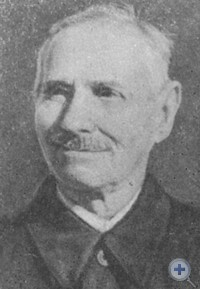 Е. Ф. Гомля — первый председатель сельхозартели «Воля». Максимилиановка, 1965 г.
