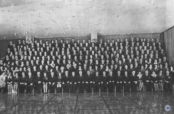 Делегаты XXV съезда Компартии Украины от Днепропетровской областной партийной организации. Январь 1976 г.