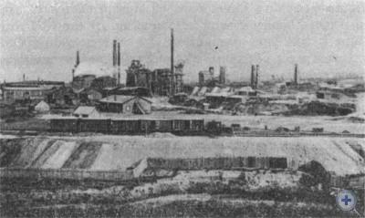 Брянский завод в Екатеринославе. Конец XIX в.