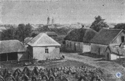 Одна из улиц Покровского. 1910 г.