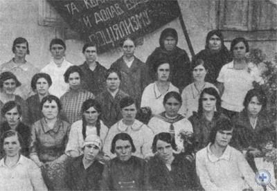 Группа женщин-активисток. Васильковка, 1925 г.