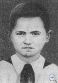 Юные разведчики партизанского отряда Гриша и Ваня Гейко.