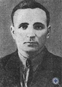 Н. К. Клочко — командир Марганецкого партизанского отряда.