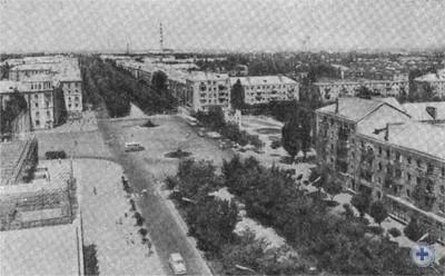 Проспект им. В. И. Ленина. Никополь, 1976 г.