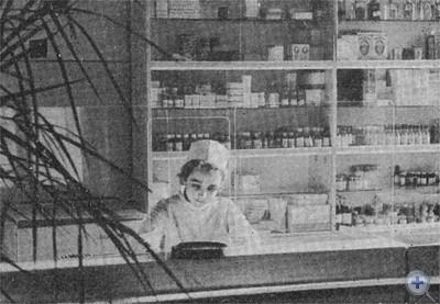 В аптеке села Дмитровки.