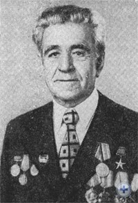 Председатель колхоза «Победа» Герой Социалистического Труда И. Г. Кисенко. 1975 г.