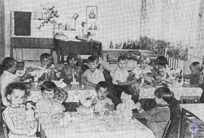 В детском саду колхоза им. Карла Маркса. Желтоалександровка, 1975 г.