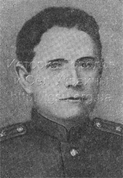 Руководители Павлоградского вооруженного восстания 1943 года П. О. Кравченко (командир) и С. С. Прибер (комиссар).
