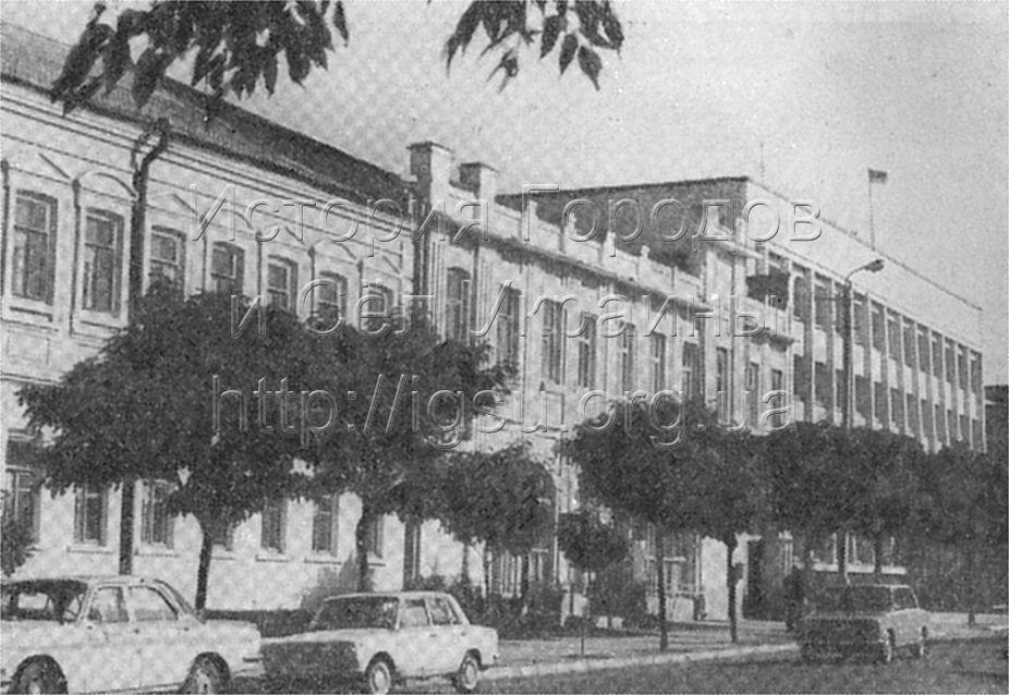 Улица В. И. Ленина в Павлограде. 1976 г.