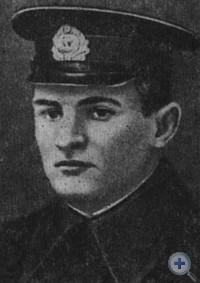 Герой Советского Союза К. Ф. Ольшанский — командир морского десанта, участвовавшего в освобождении Николаева.