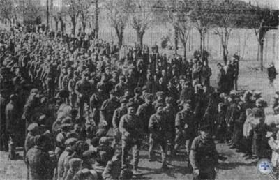 Встреча освободителей — воинов Красной Армии. Николаев, март 1944 г.