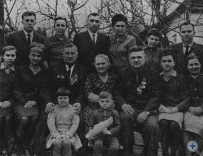 Рабочая династия Грабовых. 1967 г.