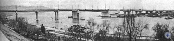 Мост через Ингул в Николаеве. 1981 г.