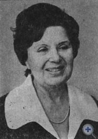 Народная артистка УССР А. В. Квасенко. 1980 г.