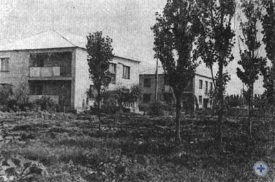 Новые дома колхозников в Вольном Запорожье. 1980 г.