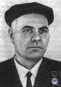 Герой Социалистического Труда Г. Я. Саенко. Нововасилевка, 1966 г.