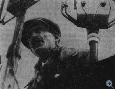 Анри Барбюс выступает на митинге, посвященном вводу в строй Днепрогэса. Запорожье, 10 октября 1932 г.