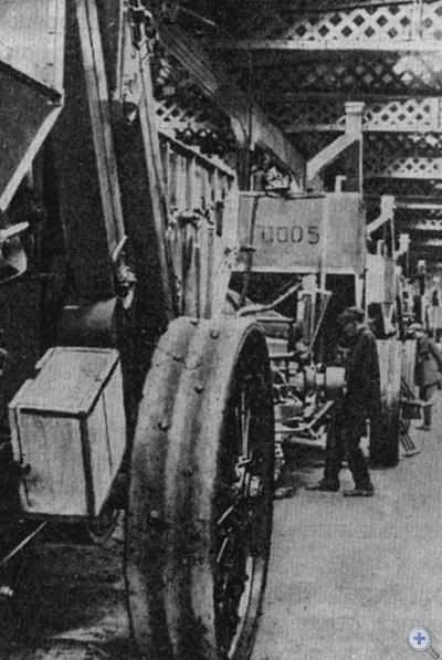 В сборочном цехе завода «Коммунар». Запорожье, 1933 г.