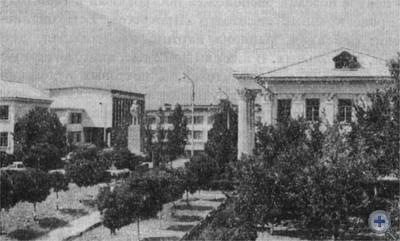 Административный центр с. Восход. 1973 г.