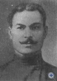 Председатель первого Александровского ревкома большевик И. П. Куренный, 1917 г.