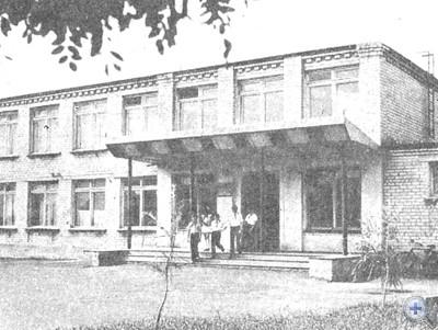 Новая школа в селе Валерьяновке, 1974 г.