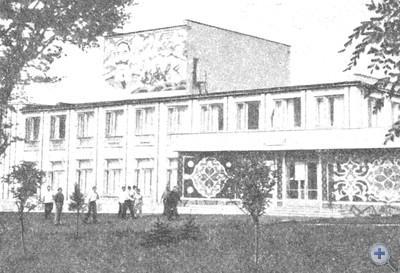 Дом культуры колхоза им. Буденного в селе Кирилловне, 1974 г.