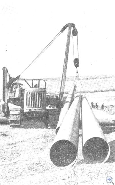 Строительство оросительной системы в колхозе «Перемога». Грузское, 1969 г.