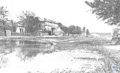 Улица Большая в Краматорске, 1900 г.