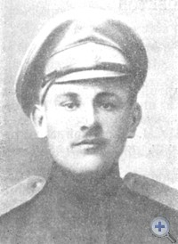 Первый военный комиссар Новоэкономического волостного комиссариата Гришинского уезда И. Д. Бардусов.