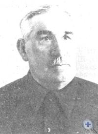 Т. В. Кишкань — командир красногвардейского отряда. Сергеевка, 1968 г.