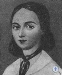 Писательница Е. А. Ган.
