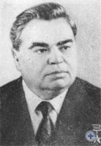 А. Ф. Ватченко — уроженец Днепропетровска, Председатель Президиума Верховного Совета УССР.