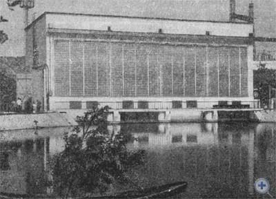 Насосная станция канала Днепр — Кривой Рог. Марьянское, 1967 г.