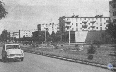 Проспект Карла Маркса в Зеленодольске. 1976 г.