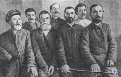 Участники революционных выступлений в Верхнеднепровском уезде в 1905 г.