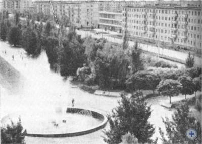 Проспект Победы в Ингульце. 1977 г.