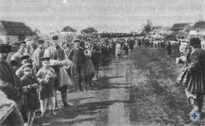 Ярмарка в Магдалиновке. 1892 г.