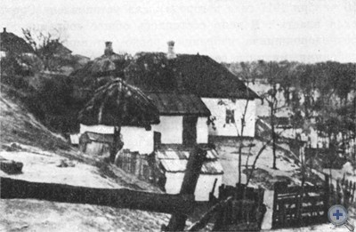 Набережная улица в Никополе. 1917 г.