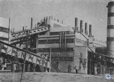 Никопольский завод ферросплавов. 1970 г.