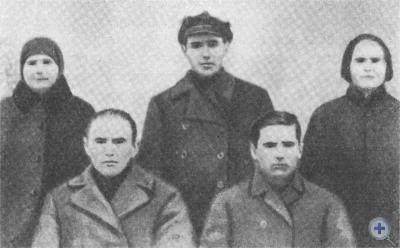 Члены бюро комсомольской ячейки села Шолохова. 1929 г.