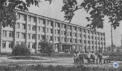 Новомосковский совхоз-техникум. 1976 г.