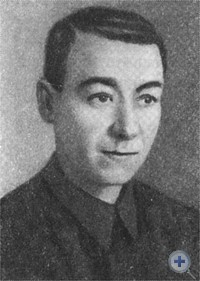 Секретарь Павлоградского подпольного горкома КП(б)У А. П. Караванченко.