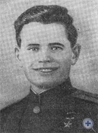 Герой Советского Союза И. Р. Косяк. Булаховка, 1945 г.