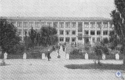 Юрьевская средняя школа. 1976 г.