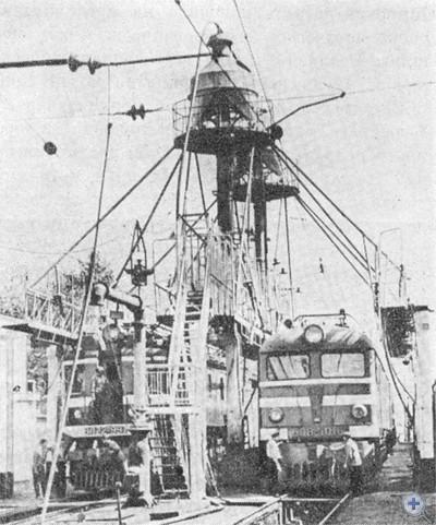 Локомотивное депо станции Пятихатки. 1975 г.
