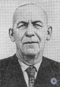 В. Т. Скрыпник — уроженец села Холодиевки, первый в Днепропетровской области кавалер ордена Ленина. Фото 1967 г.