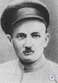Е. Я. Кишинский — председатель Синельниковского ревкома. 1919 г.