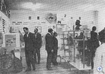 В Солонянском историко-краеведческом музее. 1976 г.